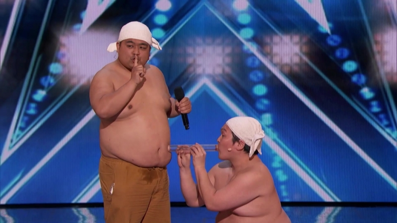 Yumbo Dump_ Comedic Duo Makes Unbelievable Sounds With Their Bodies - Americas Got Talent 2018
