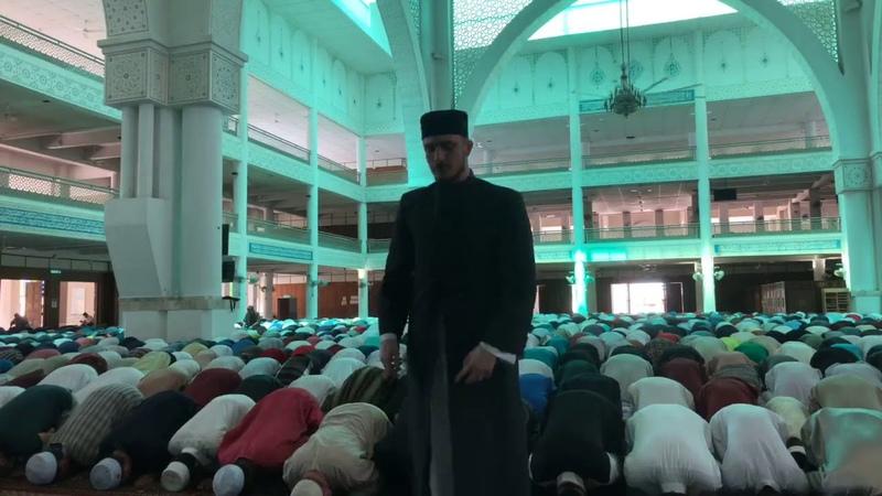 Fatih Seferagic -Jumah 2018-Malaysia