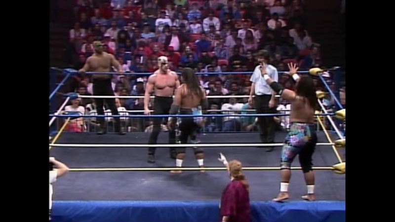 12.13.1989 - Wild Samoans VS Road Warriors