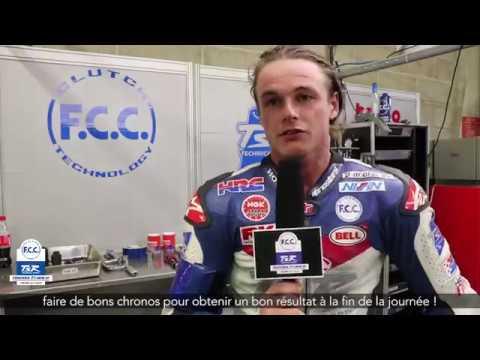 F C C TSR Honda France 24 Heures Motos La nuit