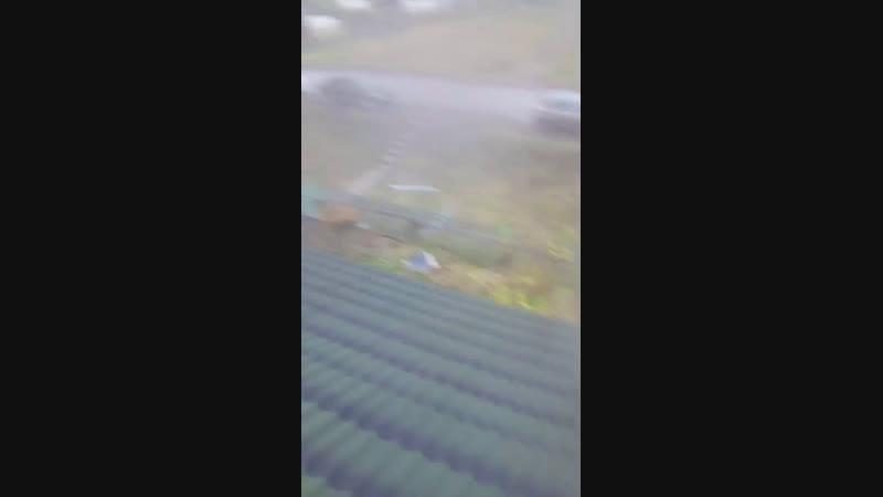 покрыли крышу ондулином!