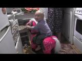 У кого в детстве была лошадка?