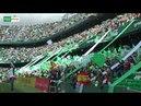 IMPRESIONANTE. Real Betis vs SD Eibar - Himno del Real Betis en el Benito Villamarín.