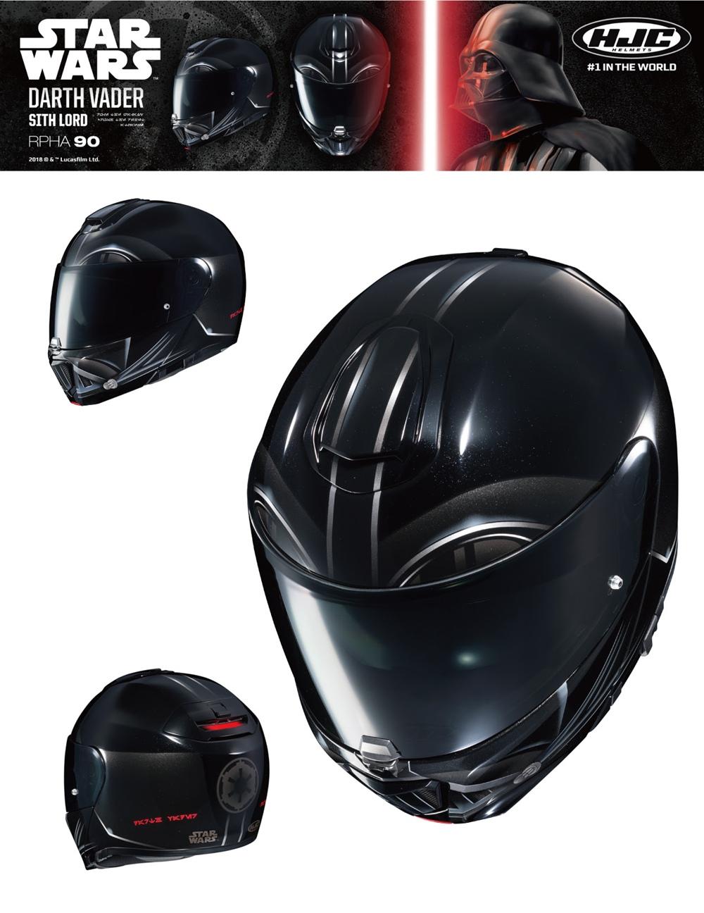 Компания HJC представила новые расцветки шлемов в стиле Звездных Войн