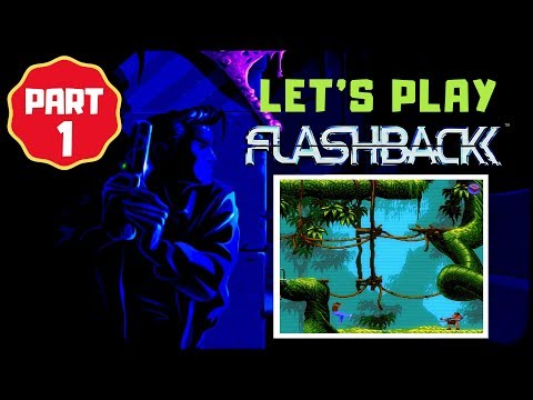 Let's Play Flashback Part 1 Nintendo Switch Retro Game