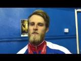 Виктор Гетц на чемпионате Москвы по тяжелой атлетике