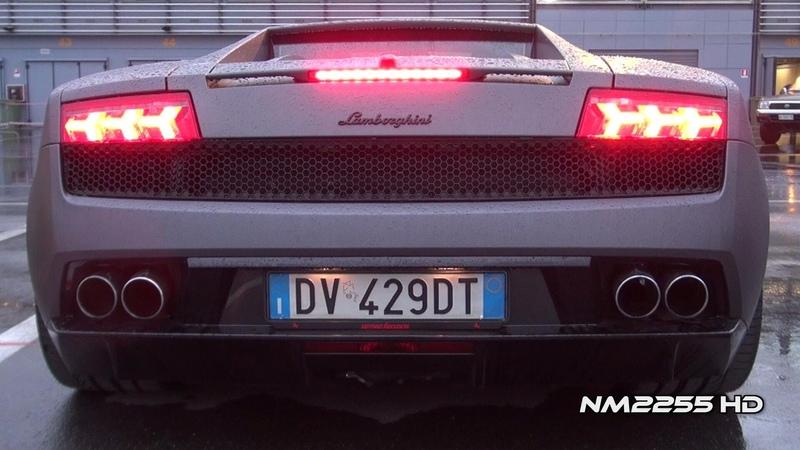 Lamborghini Gallardo LP560 with Tubi Style Amazing Sound!