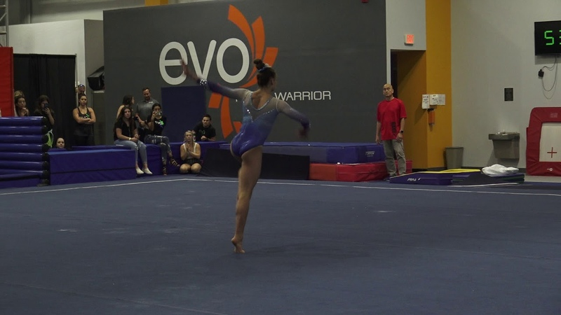 Grace McCallum - Floor - 2018 World Team Selection Camp