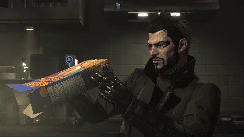 Faridah Malik easter egg inside Adam Jensen's apartment Deus Ex: Mankind Divided