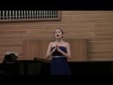 3.Мария Бузинова - К.В. Глюк Ария Ларисы из оперы Триумф Клелии