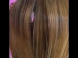 Вот так вот весело выпрямляли волосы нашей ? постоянной клиентке Катюше??