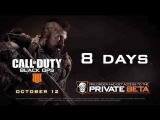 8 days to go till the BlackOps4 MP Beta begins on PlayStation 4!