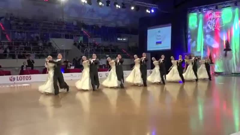2015 European STD Formation _ DanceSport Total_Российская команда