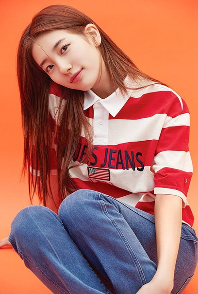 Suzy Bae (Miss A) - GUESS 2018 S/S Collection Pics