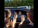 8 09 18 Himchan B A P по дороге на kbs open concert
