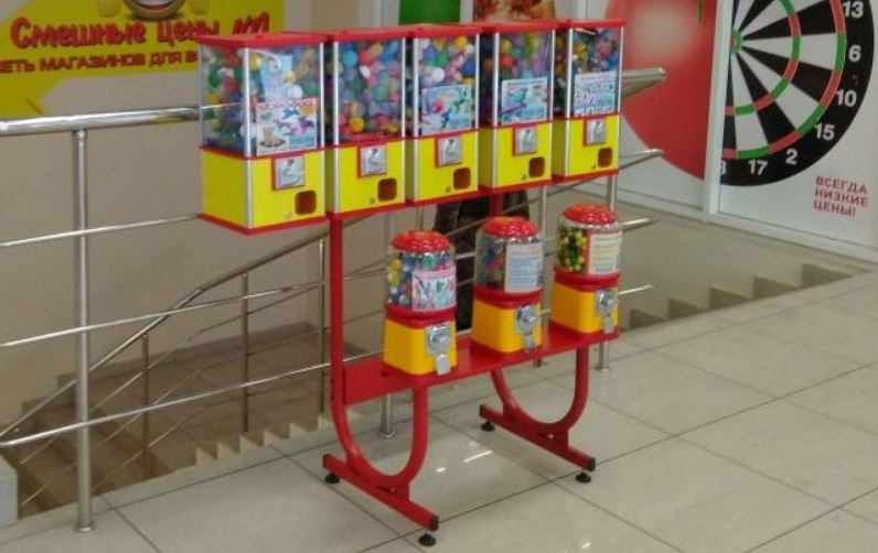 Установка механических торговых автоматов