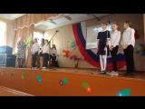 Выступление девочек на празднике КВН