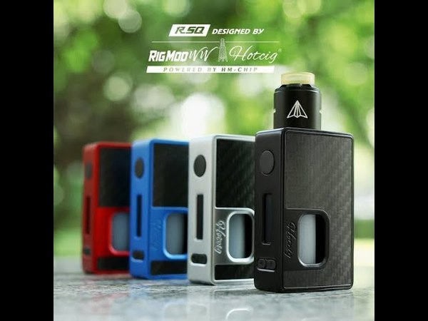 [Unboxing Video] Authentic Hotcig RSQ 80W Squonk TC Mod