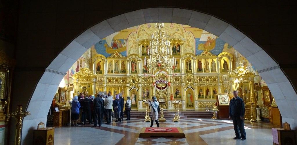 Инвалиды по зрению из Хабаровска посетили храмы Биробиджанской епархии