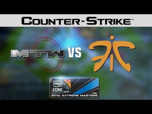 Fnatic vs. mTw - IEM European Ch. final 1/3