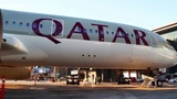 World's First Commercial A350 Flight to the United States - Qatar Airways