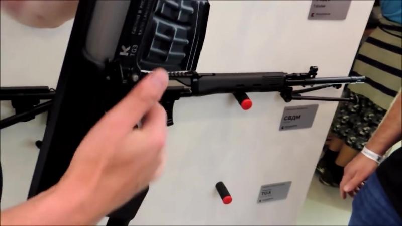 Kalashnikov TG-3. Гладкоствольный 'Тигр' со сверловкой ствола 'Ланкастер'.mp4