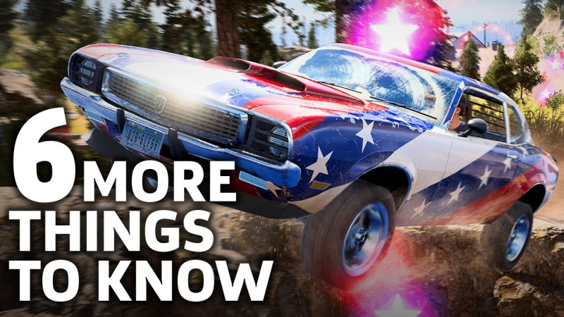 [GameSpot] Far Cry 5 Has One Big Missing Feature and Five Other Things We Found