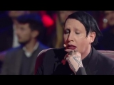 Marilyn Manson interview on italian TV show MUSIC 2017??