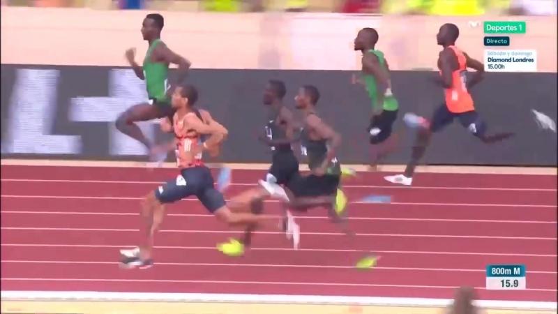 800 м -1:42.14 - масса национальных рекордов - Монако-2018