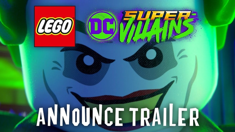 Official LEGO DC Super-Villains Announce Trailer