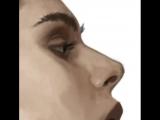 Таймлапс цифровой живописи