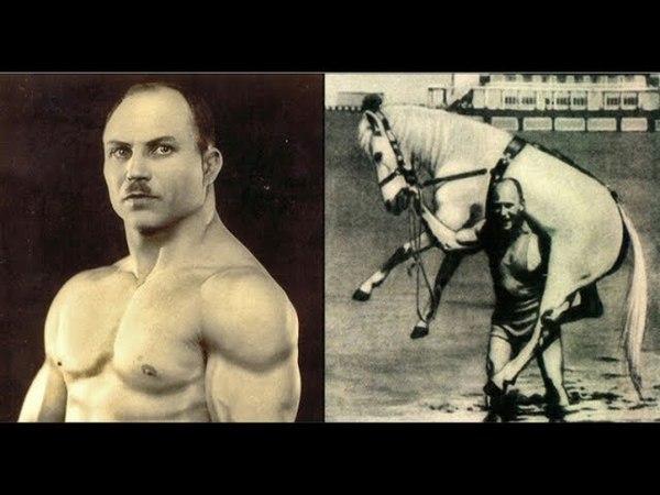 Сила Засса Как накачать жилы и поднять лошадь