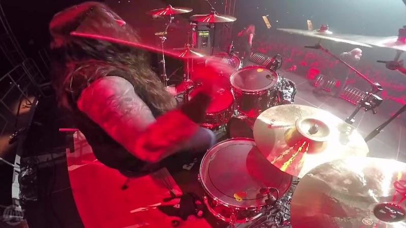 ASPHYX - Death The Brutal Way (Drum Playthrough by Stefan Huskens) (vk.comafonya_drug)