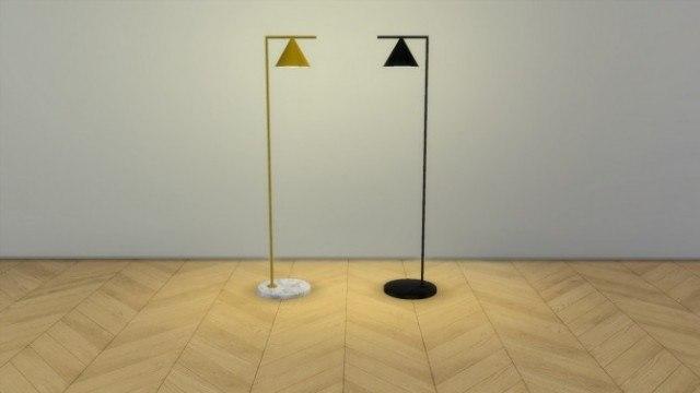 Captain Flint floor lamp by Meinkatz Creations