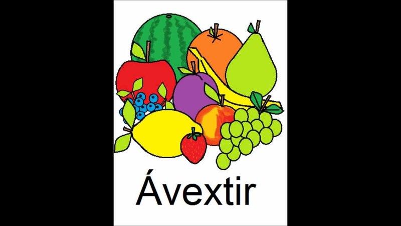 Icelandic Lesson 1: Fruit - Plural and Singular, Pronunciation