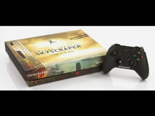 Skyscraper Movie Xbox One X signed by The Rock
