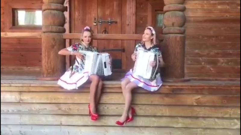 Самые красивые аккордеонистки- Дуэт ЛАРГО