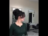 Видео-урок Высокая текстурная прическа