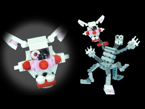 How to Build LEGO Mangle (Phantom Nightmare) | LEGO FNAF