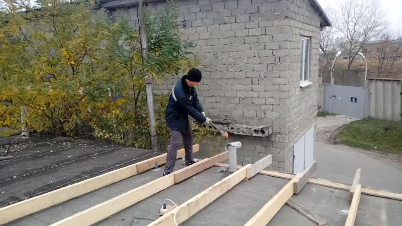 Как починить крышу или гольф с кувалдой