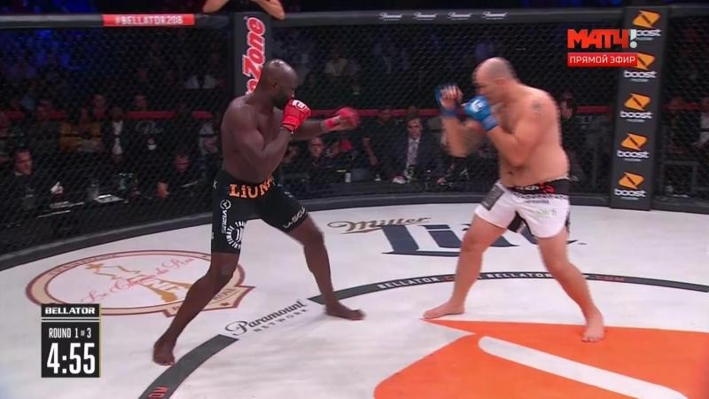 Cheick Kongo vs. Timothy Johnson [13.10.2018 Bellator 208]
