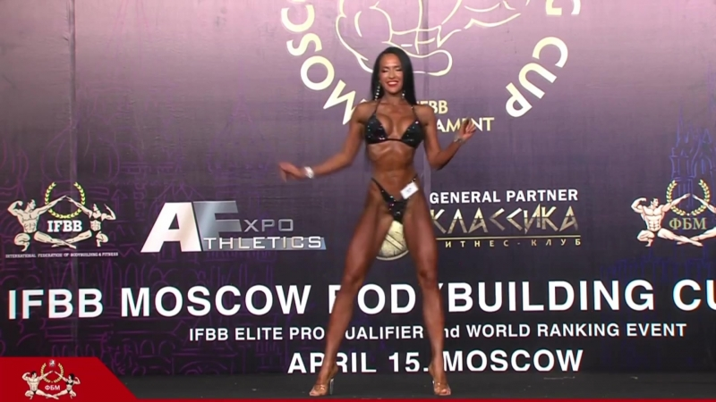 Ксения Шевелева - 1 место на Moscow Bodybuilding Cup - 2018 (169 см)