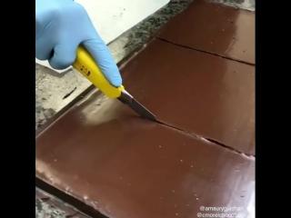 Создание шоколадного шедевра от @amauryguichon