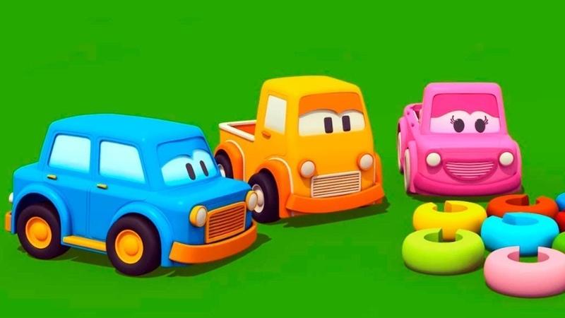 Novo! Carros Inteligentes! Aprenda as cores!