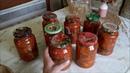 Заготовки на зиму.Варю варенье, делаю салат из огурцов в лечо.