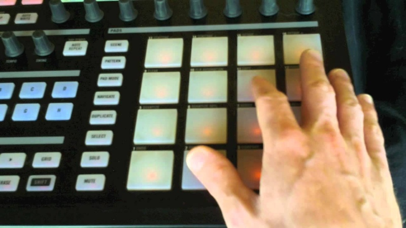 Jeremy Ellis - Maschine MPC Lessons 22 part 1