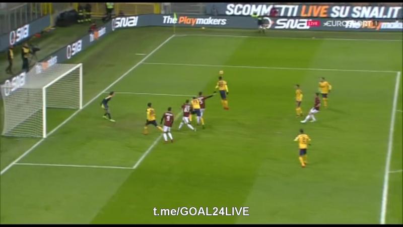 Милан 1:0 Верона | Гол Сусо