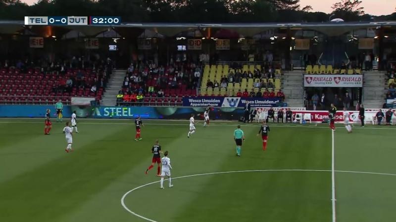 Samenvatting Telstar - Jong FC Utrecht (31-08-2018)