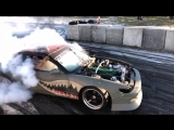 Cant stop the RFB REAPER S13! RB Goodness Huge flames