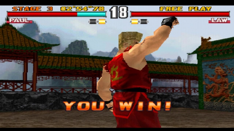 [PSX] Tekken 3 - Paul Phoenix(Arcade Mode)